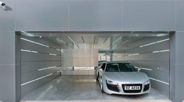 Освещение в гараже - выбор, монтаж и разновидности