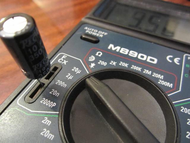 Как определить не маркированный импортный электролитический sdm-конденсатор