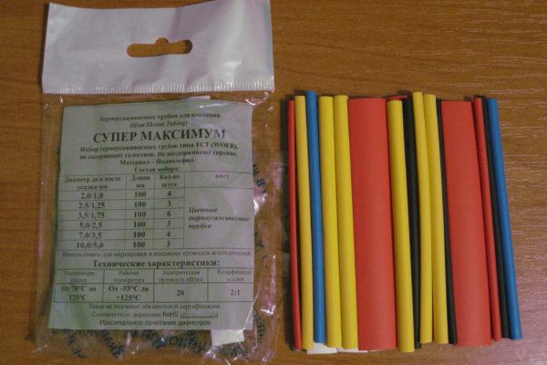 Термоусаживаемые трубки для проводов: использование термоусадок при монтаже кабелей
