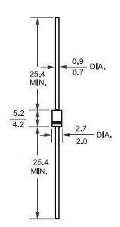 Характеристика и свойства выпрямительного диода 1n4001: аналоги