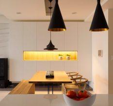 Подвесные светильники: классификация, решения для интерьера