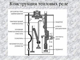 Тепловое реле: принцип работы, виды, схема подключения и регулировка и маркировка