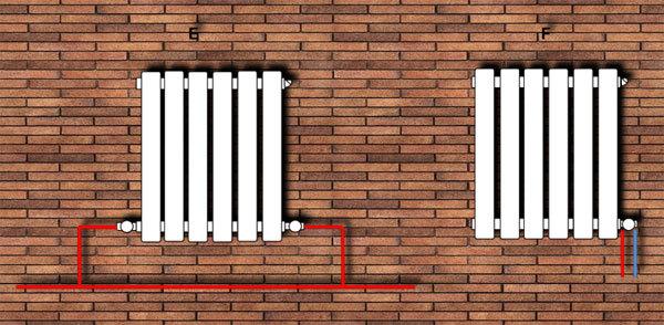 Способы и схемы подключения радиаторов отопления: как правильно провести монтаж