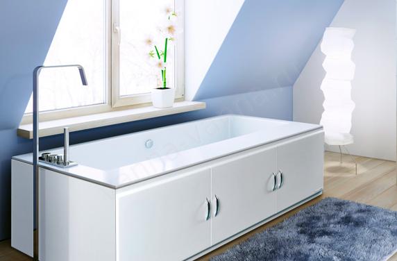 Экраны для ванной: типы устройства раздвижных и цельных конструкций