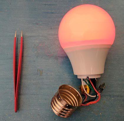 Как разобрать лампочку: правила и инструкция по разборке разных типов ламп