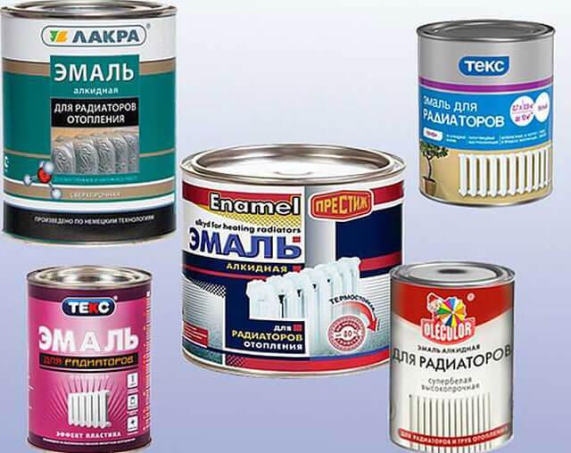 Каким видом краски рекомендуется красить радиаторы отопления