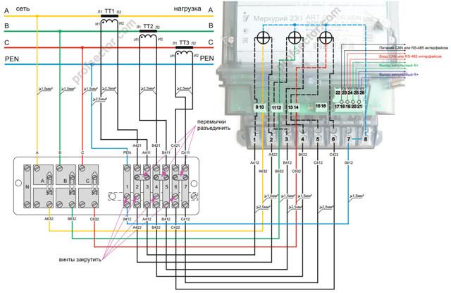Подключение однофазного электросчетчика и автоматов: типовые схемы и порядок подключения