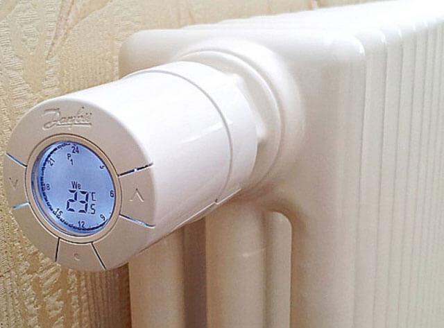 Термоголовка для радиатора отопления: виды, принцип работы и правила установки