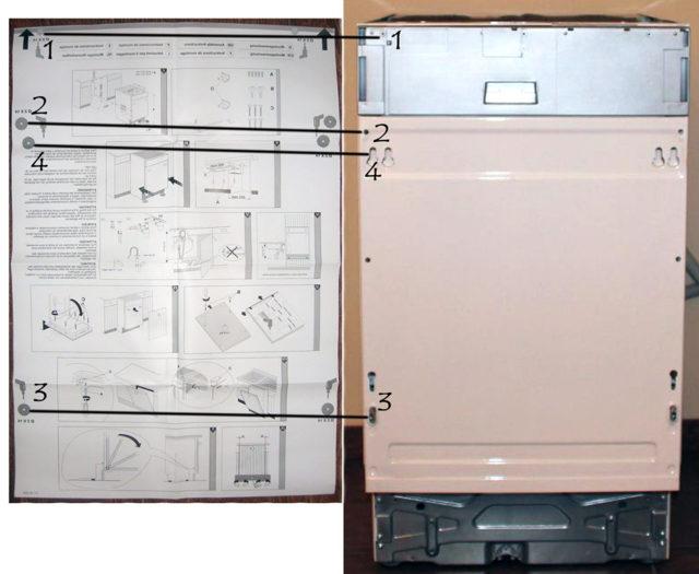 Самостоятельная установка фасада на посудомоечную машину: инструкции и советы