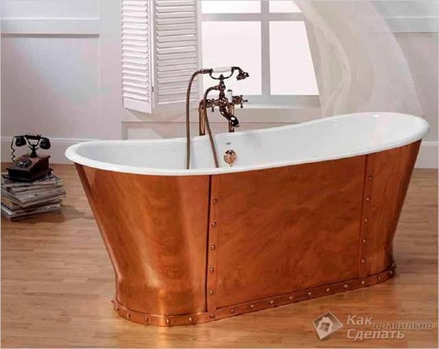 Как выбрать чугунную ванну и на что смотреть перед покупкой