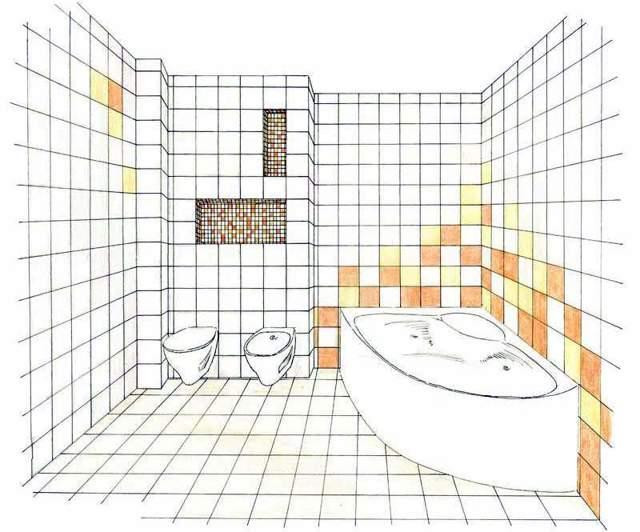 Как рассчитать количество плитки в ванную: общие правила и пример проведения расчета