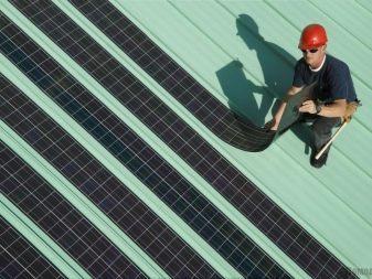 Гибкие солнечные батареи: виды и свойства солнечных панелей
