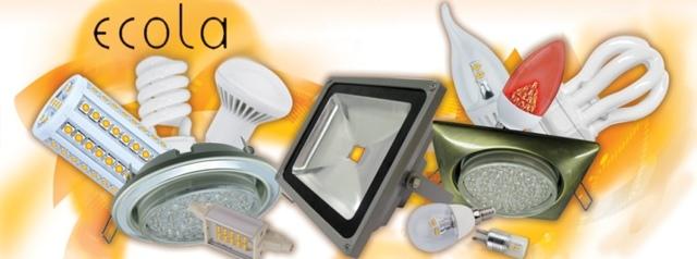 Обзор линейки светодиодных ламп ecola (Экола)