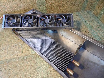 Водяные напольные конвекторы отопления: виды, производители