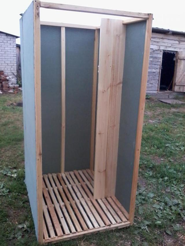 Садовый душ своими руками: обзор технологии строительства и погашовый инструктаж