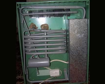Как сделать газовый холодильник на пропане своими руками