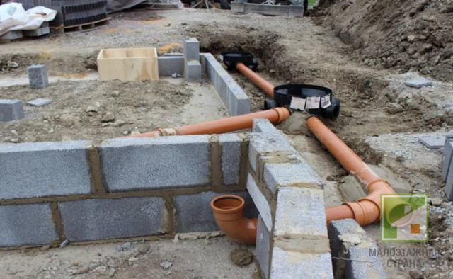 Прокладка канализационных труб в земле: правила и требования, расчет глубины