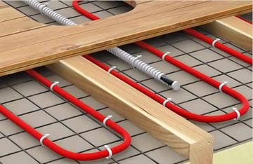 Водяные тёплые полы под плитку: правила монтажа и подключения