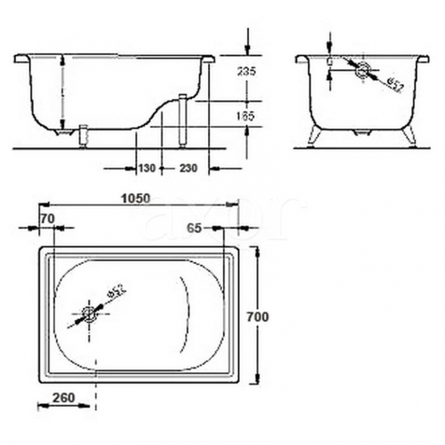 Сидячие ванны для маленьких ванных комнат: виды, устройство и как правильно выбрать