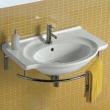 Крепление раковины к стене: подробный инструктаж