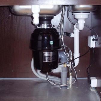 Измельчитель мусора для раковины: инструкция по подключению
