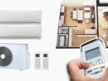 Сплит-система на 2 комнаты: принцип работы и особенности выбора такого оборудования