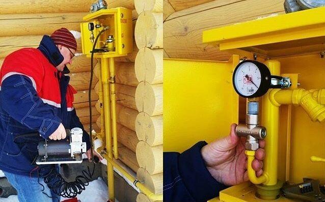 Опрессовка газопровода: контрольные работы по испытанию герметичности