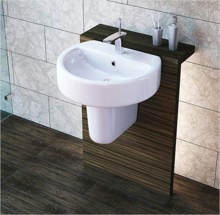 Подвесная раковина для ванной: инструктаж по установке