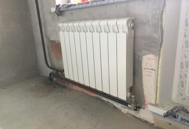 Замена батарей отопления методом газосварки: технология проведения работ