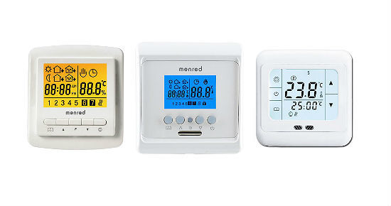 Как выбрать и установить терморегулятор для теплого пола