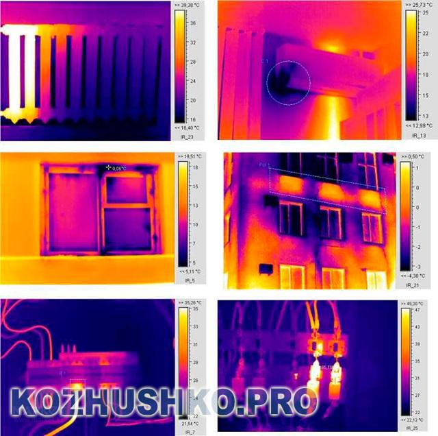 Тепловизор для строительства: виды и правила проведения проверки дома