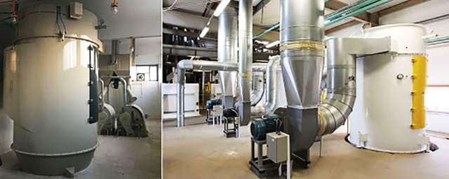 Аспирационные системы: установки и оборудование промышленной аспирации