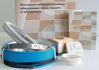 Как сделать теплый пол в ванной: инструктаж устройства своими руками