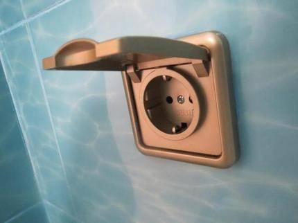 Влагозащищенные розетки: выбор типа влагостойкого устройства