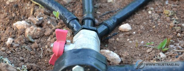 Труба для капельного полива: выбор и монтаж трубопровода для полива