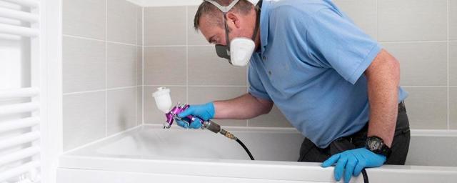 Реставрация ванн жидким акрилом: технология нанесения нового покрытия
