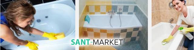 Уход за акриловой ванной: средства грамотного содержания сантехники