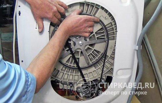Не крутится барабан стиральной машины: 7 причин и их устранение