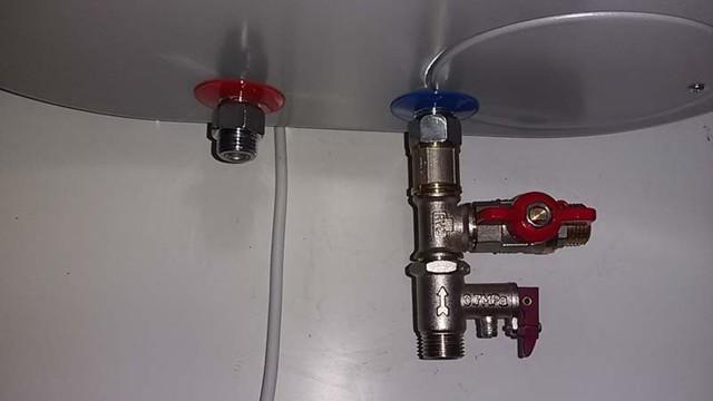 Предохранительный клапан для бойлера (водонагревателя): строение, монтаж