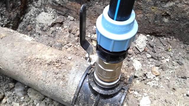 Врезка в существующий водопровод под давлением: инструктаж