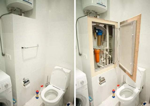 Как закрыть трубы в туалете: все варианты спрятать, скрыть и зашить