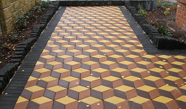 Как правильно класть тротуарную плитку: варианты укладки тротуарной плитки и порядок проведения работ