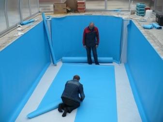 Материалы для гидроизоляции бассейнов: обзор видов и как выбрать