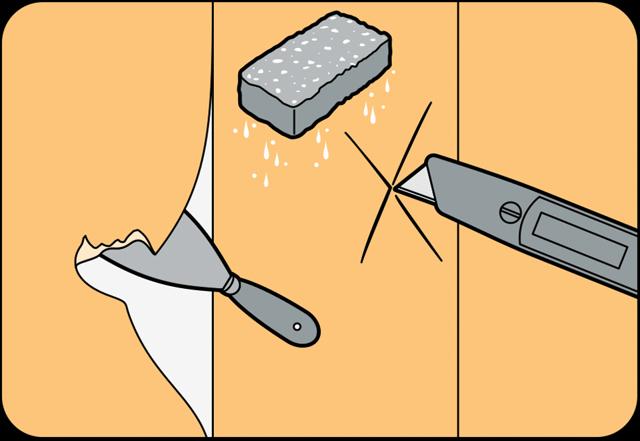 Очистка стен от старых обоев: легкие и быстрые способы, подготовка, пошаговая инструкция, материалы и инструменты
