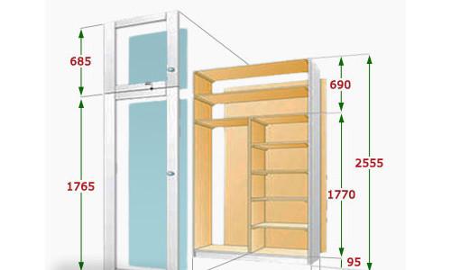 Как сделать на балконе шкаф своими руками: чертежи и пошаговые инструкции по сборке мебели