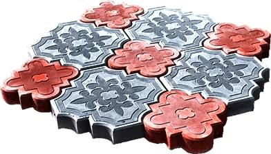 Садовые дорожки из плитки Краковский клевер: отличительные свойства Гжелки, особенности укладки, цены, вид, описание