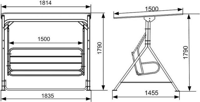 Как сделать качели своими руками из металла: инструктаж по сооружению уличных качелей