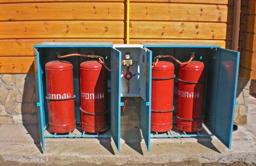 Как утеплить газовый баллон на улице зимой: обзор лучших способов