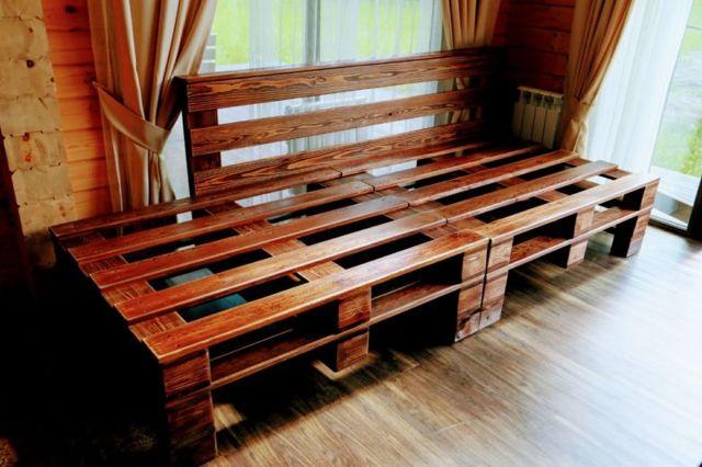 Мебель своими руками из поддонов: идеи изготовления оригинальной мебели и пошаговая инструкция