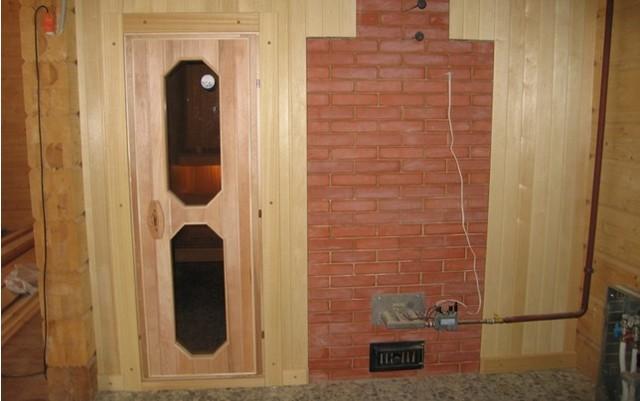 Печь для бани на газу своими руками: инструкция по монтажу и подключению газовой банной печки